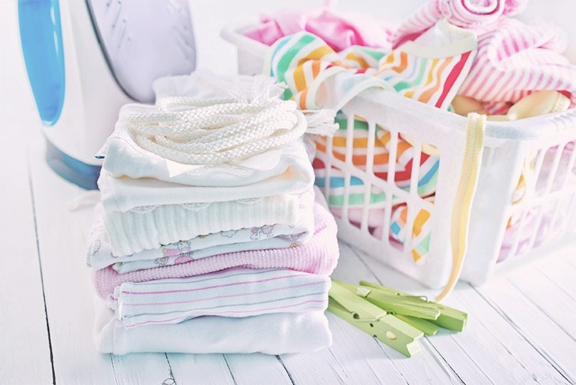 نکات شستشوی لباس نوزاد و کودکان