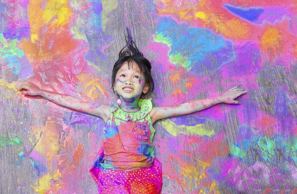 تاثیر رنگ بر روی کودکان
