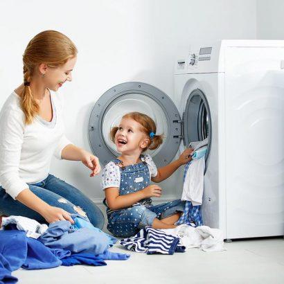 نکات شستن لباس کودک