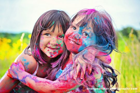 خصوصیات رنگ های مختلف برای لباس کودک