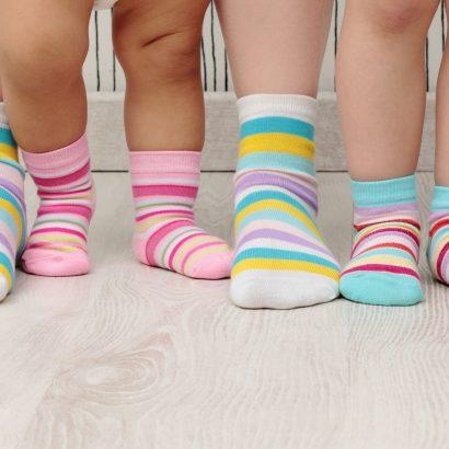 اندازه جوراب کودکان