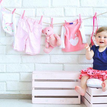 متد KonMari در مرتب کردن لباس کودک