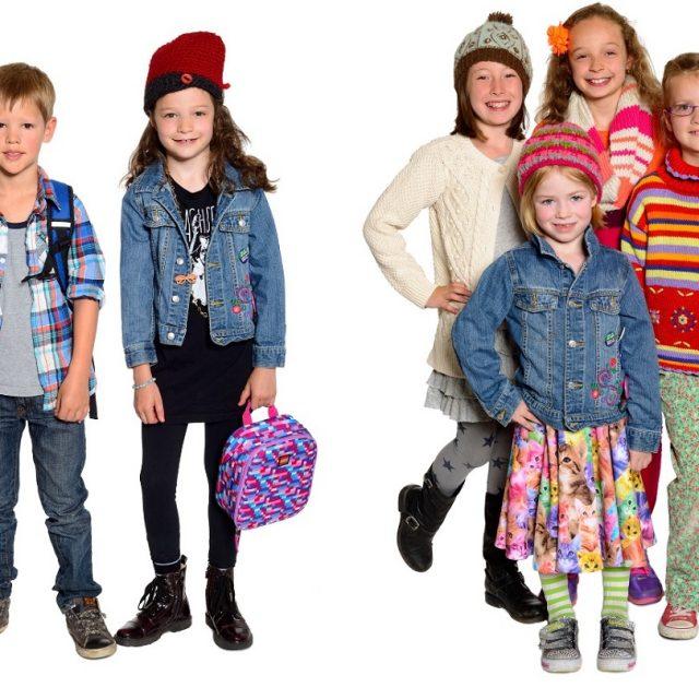رنگ لباس کودکان