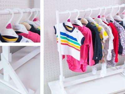 مرتب کردن لباس بچگانه