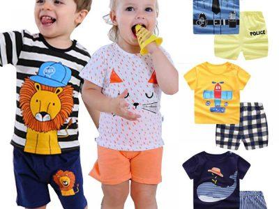 انتخاب رنگ لباس بچه گانه